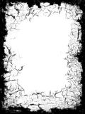 染黑边界框架 库存图片