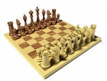 染黑董事会企业检查棋结尾的游戏高亮度显示损失伙伴黑白照片采取白色在方法成功的隐喻 库存图片