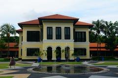 柔佛州苏丹,新加坡前宫殿  免版税库存图片