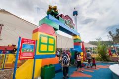 柔佛州- 11月14 :一部分在2012年11月14日的Legoland马来西亚在柔佛州马来西亚 免版税图库摄影