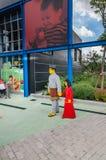 柔佛州- 11月14 :Legoland在2012年11月14日的柔佛州马来西亚 Legoland游乐园在马来西亚 免版税图库摄影