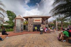 柔佛州- 11月14 :Legoland在2012年11月14日的柔佛州马来西亚 Legoland游乐园在马来西亚 免版税库存图片