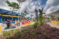 柔佛州- 11月14 :Legoland在2012年11月14日的柔佛州马来西亚 Legoland游乐园在马来西亚 免版税库存照片