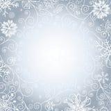 柔和圣诞节的框架 免版税库存图片