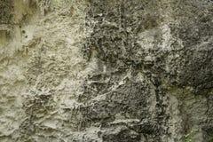 柔和曲调关闭了与白色calcareus条纹的历史的自然石灰石在西西里岛意大利 免版税库存照片