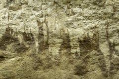 柔和曲调关闭了有白色calcareus雕刻的历史的自然石灰石块墙壁在西西里岛意大利 库存图片