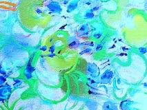 柔和的抽象多色背景或样式 库存照片