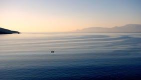 柔和的海流 图库摄影