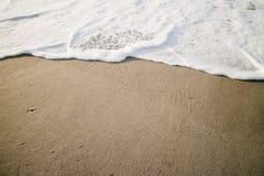 柔和的海浪 库存图片