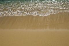 柔和的海浪 图库摄影