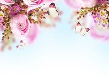 柔和的花束 免版税库存图片