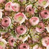 柔和的花束 库存照片