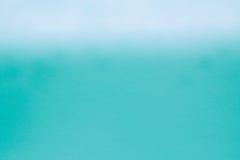 柔和艺术品蓝色和蓝绿色的水彩纸纹理 免版税库存图片