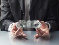 柔软和灵活性在事务 免版税库存图片