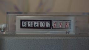 柜台显示气体被消耗的相当数量 股票录像