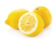 柠檬交叉零件 免版税图库摄影