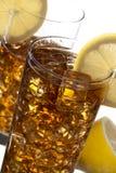柠檬冰茶 图库摄影