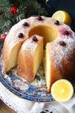 柠檬杯形蛋糕 免版税图库摄影