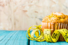 柠檬松饼 免版税库存图片