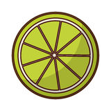 柠檬柑桔象 图库摄影