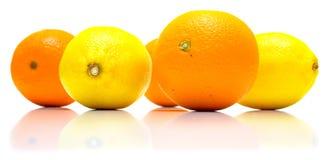 柠檬桔子 图库摄影