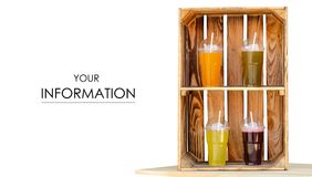 柠檬水汁玻璃饮料街道食物样式 免版税库存图片