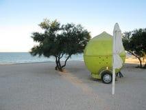 柠檬水食物卡车 库存图片