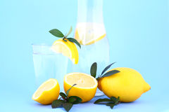 柠檬水 免版税库存图片
