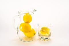 柠檬水unsqueezed 免版税图库摄影