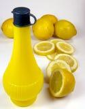 柠檬片式 库存照片