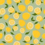 柠檬的样式 免版税库存图片