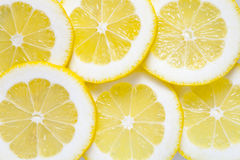 从柠檬的背景 库存图片