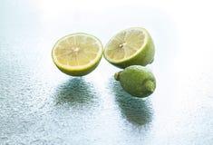 柠檬石灰 库存图片