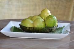 柠檬碗 免版税库存图片