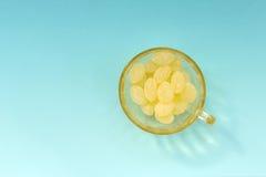 柠檬糖 免版税库存照片