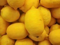 柠檬纹理 图库摄影
