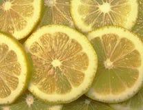 柠檬纹理 免版税库存照片