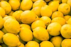 柠檬背景 库存照片