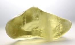 柠檬色宝石 免版税库存图片