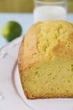 柠檬蛋糕 图库摄影