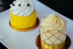 柠檬蛋糕 库存照片