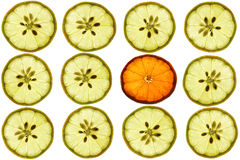 柠檬蜜桔 免版税库存图片