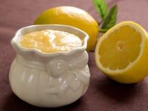 柠檬酱 库存图片