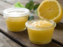 柠檬酱 免版税库存图片