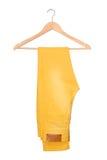 柠檬长裤 库存照片