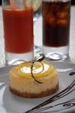 柠檬饼 免版税图库摄影