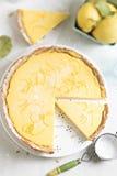 柠檬馅饼 库存图片