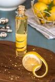 柠檬香精 图库摄影
