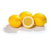 柠檬黄色 免版税库存照片