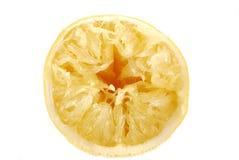 柠檬黏浆状物质 库存图片